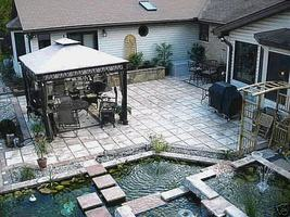 Make Castle Stone Pavers Concrete For Pennies a Foot with 29 Molds, Supplies Kit image 3