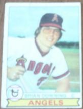 Brian Downing, Angels, 1979 #71 Topps Baseball Card, Good Cond - Nice Vintage - $3.26