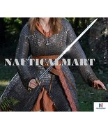 NauticalMart Warrior Woman Medieval Armor Riveted Chainmail Shirt - $299.00
