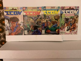 ICON (MILESTONE COMICS) 1993-1997 VF 15 BOOK LOT WITH KEY AND FREE SHIPPING - $15.90