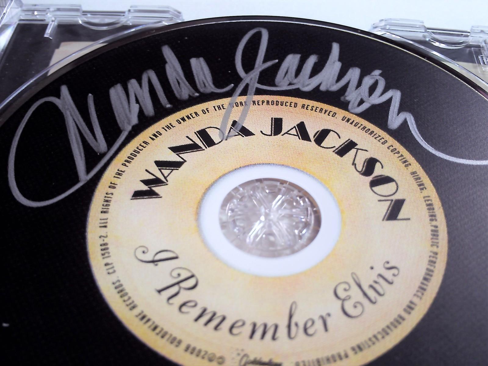 Wanda Jackson I Remember Elvis CD - signed