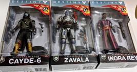 McFarlane Toys Destiny 2 Cayde-6 Zavala & Ikora Rey Action Figure Set L... - $46.74