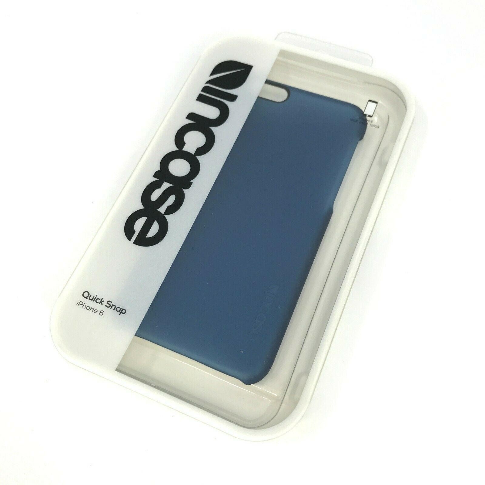 Primary image for Incase Quick Snap Case For iPhone 6 Color - Blue #6554