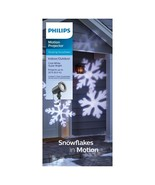 Philips White Led Snowflake Motion Projector and 40 ft outdoor extension... - $17.81