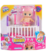 Toys-Little Live Bizzy Bubs Cute Crib/Toys NEW Box Damage - WORKS - $23.29