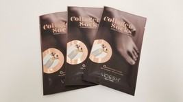 3 PAIRS - New Look VOESH New York Deluxe Pedicure Collagen SOCK (Pre-Cut) - $10.84