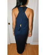 L'AGENCE MIDNIGHT SLEEVELESS MAXI DRESS SIZE 0 EUC - $79.19