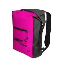25L Waterproof Backpack, Outdoor Packable Bag / Dry Sack -  PINK - $26.95