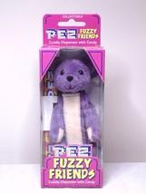 Pez Fuzzy Friends Gilbert Bear Cuddy Dispenser With Backpack Clip - $7.99