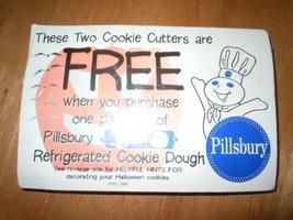 Vintage Pillsbury Halloween Plastic Cookie Cutters New in Package 1996 - $4.99