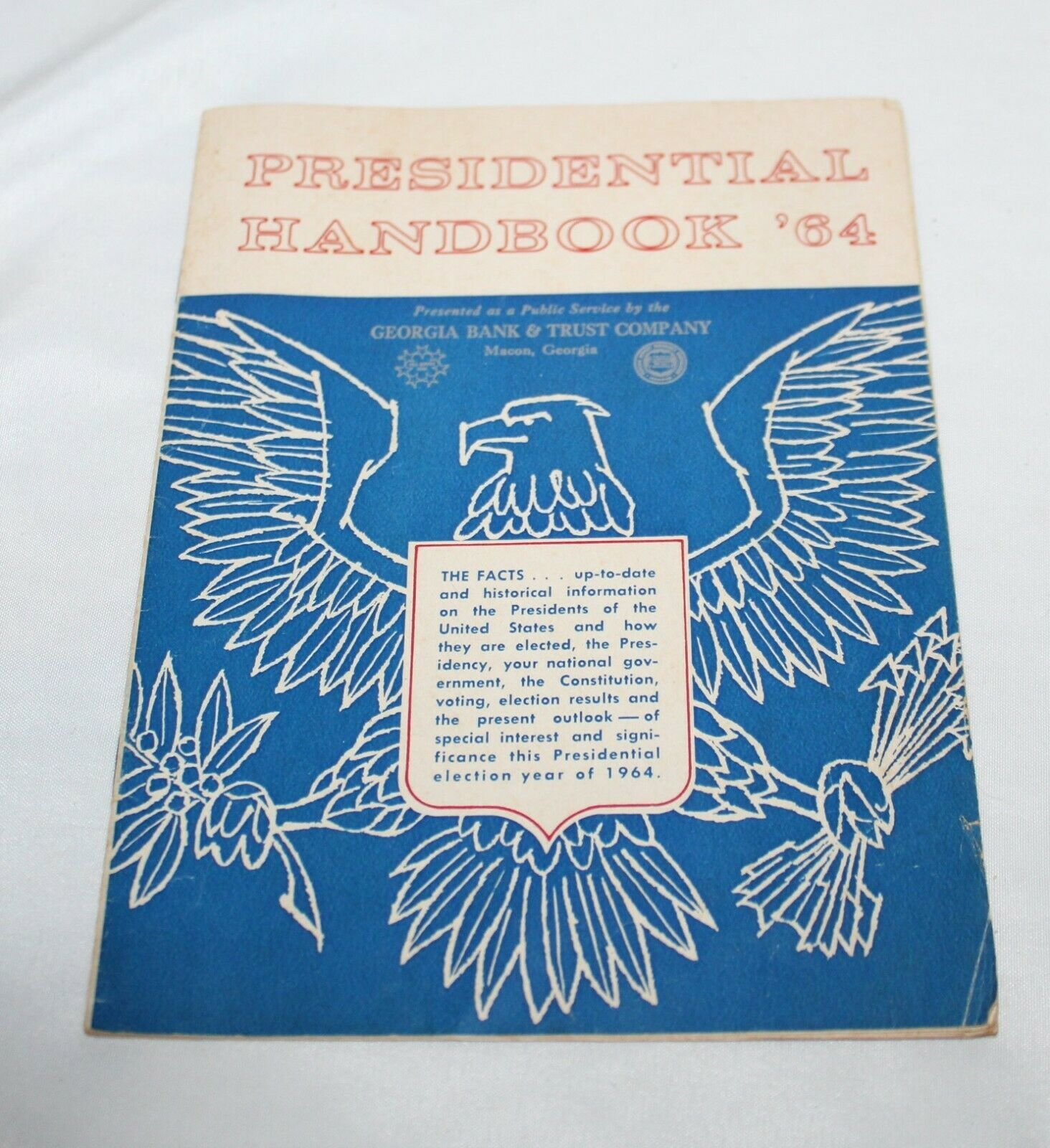 Primary image for Presidential Handbook '64 Great Condition ! Trump or Biden ? Johnson ????????