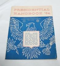 Presidential Handbook '64 Great Condition ! Trump or Biden ? Johnson ???... - $19.79