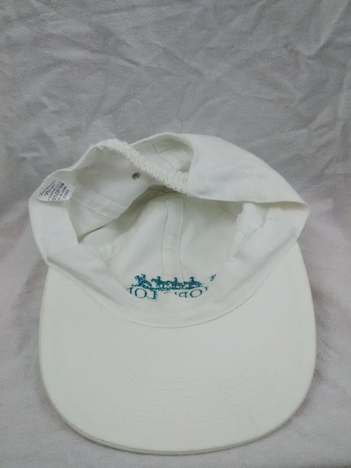 Bishops Lodge Santa Fe New Mexico Adult Elasticback Adjustable Hat Ball Cap Vtg image 5