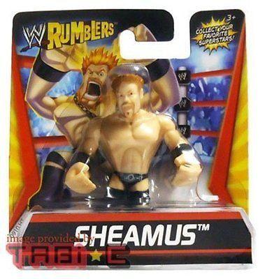 Sheamus WWE Wrestling Rumblers Mini Action Figure