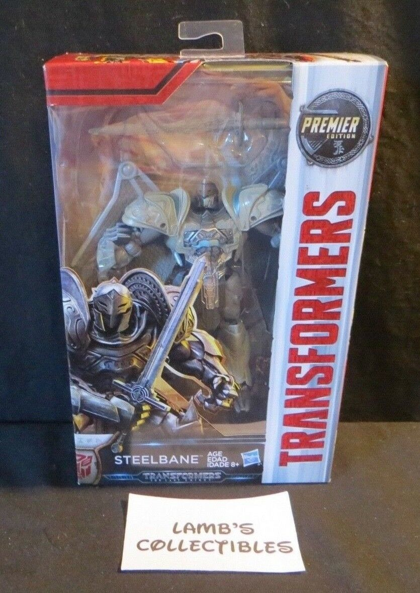 Primary image for Hasbro Transformers The Last Knight Steelbane Premier Deluxe Class Edition toy
