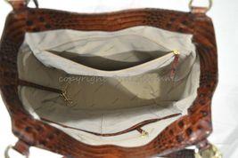 NWT Brahmin Marianna Leather Tote / Shoulder Bag in Pecan Melbourne image 6