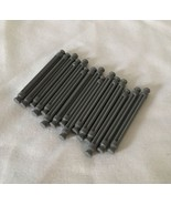 """KNEX Gray Micro Rods Lot Of 15 Bulk Standard Replacement Parts 1.5"""" 1 1/2"""" - $4.97"""