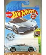 2020 Hot Wheels #227 HW Exotics 2/10 McLAREN SPEEDTAIL Lt Blue w/Gray AD... - $8.00