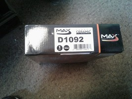 Max D1092 Ceramic Disc Brake Pads image 2