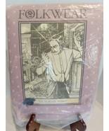 FOLKWEAR #202 MENS 1870'S VICTORIAN SHIRT PATTERN THEATER COSTUME REINAC... - $19.75