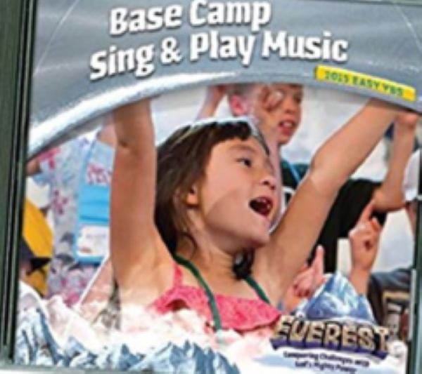 Vacation Bible School Base Camp Sing & Play Music Cd