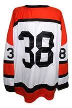 Custom # Denver Spurs Retro Hockey Jersey New White Any Size image 2
