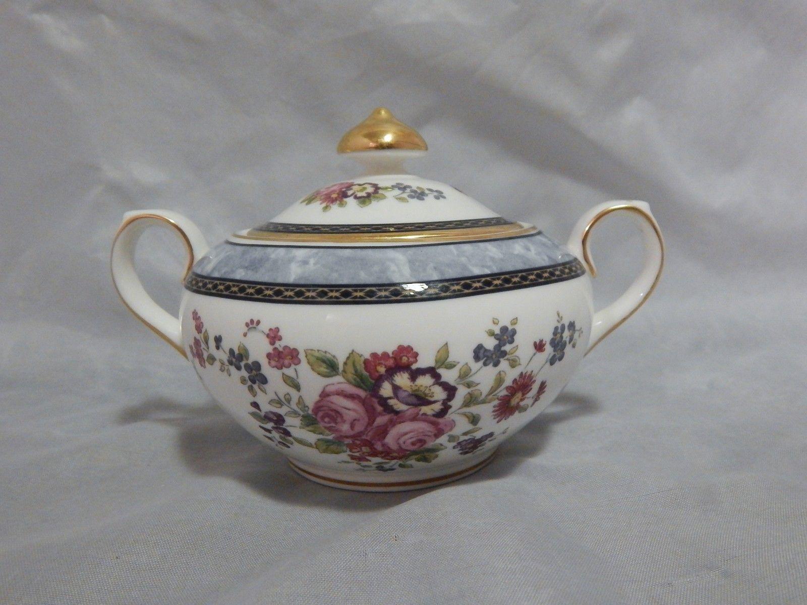 Royal Doulton Centennial Rose Covered Sugar Bowl