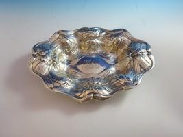 Oval Bowl Sterling Silver w/Floral Design   H150 - $355.50