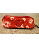 JUICY COUTURE Red Velour Barrel Cosmetic Other Essentials Bag   - $13.99