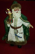 """Clothtique Possible Dreams 2000 Santa Claus Jack in the box  """"Holiday Tr... - $49.99"""