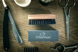 ZilberHaar Soft Pocket Beard Brush – 100% Boar Bristles with Firm Natural Hair – image 9