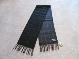 Authentic Polo Ralph Lauren Mens Scarf Lambs Wool Reversible New W/Tag - £32.53 GBP