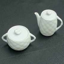 New Vintage Original MIKASA Palladio Fine China Sugar Bowl and Creamer Set - $39.90