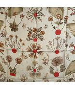 Authentic Hermes Vintage Silk Jacquard Scarf Herbier de Gavarnie De La P... - $326.70