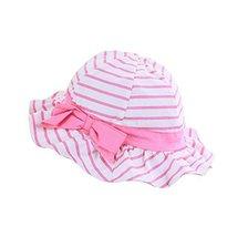 Sun-Proof Cute Pure Cotton Comfortable Ventilate Bucket Hat/Kid Cap image 2