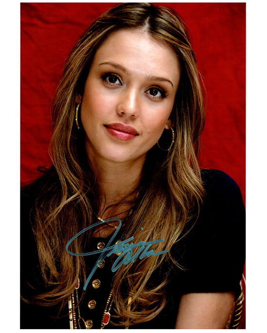Primary image for JESSICA ALBA  Authentic Original  SIGNED AUTOGRAPHED PHOTO W/COA