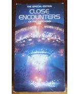 Close Encounters of the Third Kind VHS Richard Dreyfuss Teri Garr Specia... - $1.99