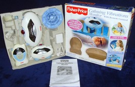 Mattel•Fisher-Price•Calming Vibrations Monitor+Remote Control•Model 71644•WORKS! - $17.99