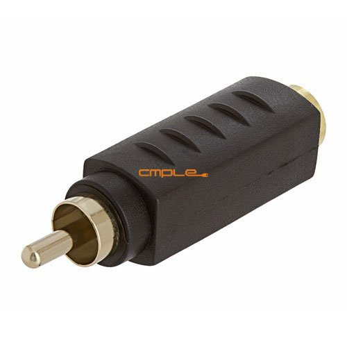 Cmple - S-VHS 4Pin Jack to RCA Plug Adapter