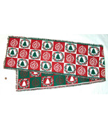 """XMAS Christmas 68"""" Tree, Wreath Pattern Holiday Party Table Runner, Clot... - $25.72"""