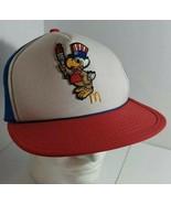 Vintage USA OLYMPICS McDONALDS Mesh Snapback Trucker Cap Hat Patch 1984 - $24.74
