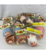 Darice Fibre Craft Primo Mitzi Vintage Doll Heads and Hands Lot if 11 - $39.60