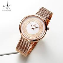 Shengke Women Watches Women Fashion Clock Vintage Design Ladies Watch Lu... - $27.67