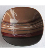 """Better Homes And Gardens """"Bazaar Brown"""" Stripes Collectible Dinner Size ... - $15.99"""