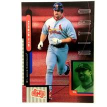 Mark McGwire 1999 Upper Deck Ionix Nitro Insert Card #N9 St. Louis Cardi... - $5.89