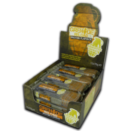 Grenade - Grenade Reload Protein Flapjacks, Banoffee Blast - 12 Bars