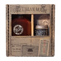 18.21 Man Made Sweet Tobacco 3-in-1 Shampoo, Conditioner, Body Wash (18oz) & Sof