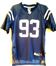 EQUIPMENT NFL  AUTHENTIC JERSEY ~INDPLS COLTS~ DEWIGHT FREENEY #93 Youth... - $20.74