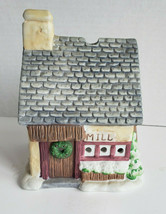 Grist Mill Tealight Candle House Porcelain Village Christmas PartyLite P... - $15.79