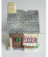 Grist Mill Tealight Candle House Porcelain Village Christmas PartyLite P... - $15.79